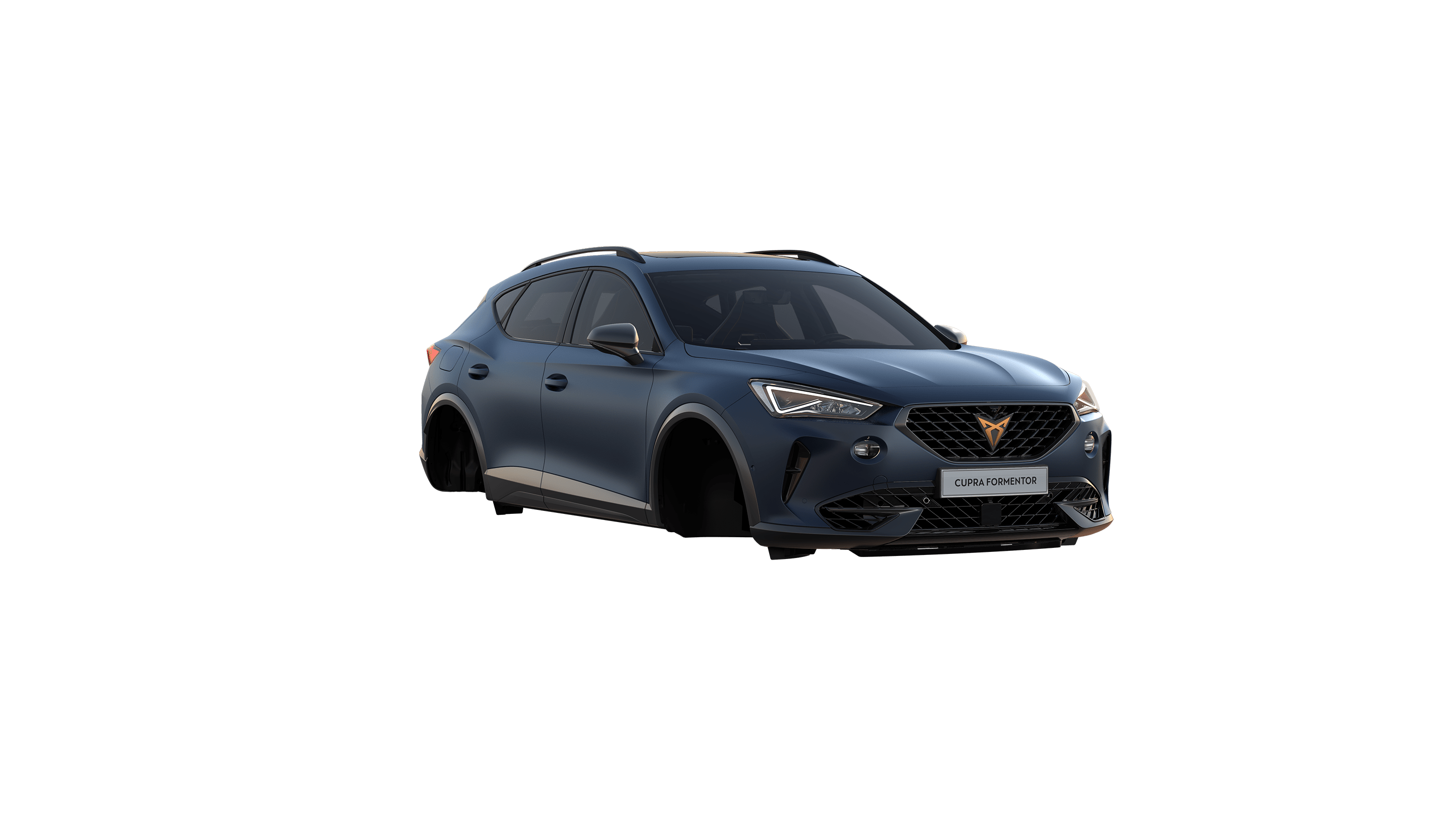 new cupra formentor .available in petrol blue matte colour